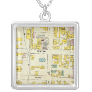 Hallowell, Kennebec County, and Maine 2 Silver Plated Necklace
