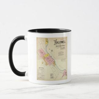 Hallowell, Kennebec County, and Maine Mug