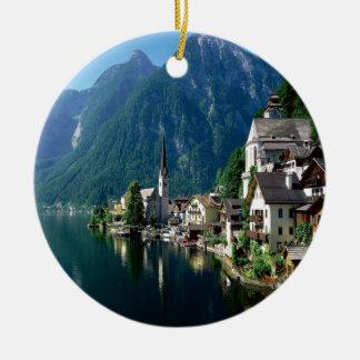 Hallstatt Austria Christmas Ornament