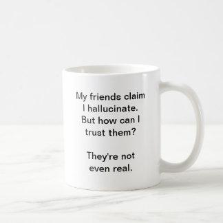 Hallucinate (Coffee Mug) Basic White Mug
