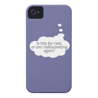 """Hallucinating?"" custom color Blackberry case"