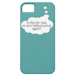 """""""Hallucinating?"""" custom color iPhone case"""
