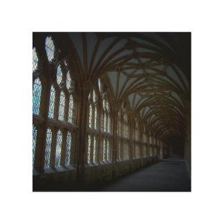 Hallway - Woodsnap Photo Wood Print