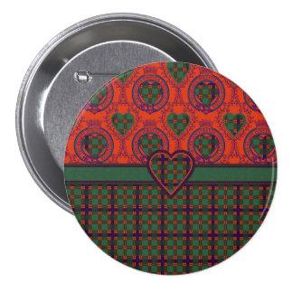 Hallyard clan Plaid Scottish kilt tartan 7.5 Cm Round Badge