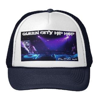 Halo2, QUEEN CITY HIP HOP, FILTHY INK Mesh Hats