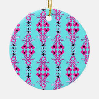 Halona ~ Of Happy Fortune Round Ceramic Decoration