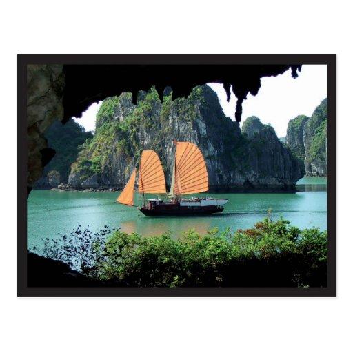 Halong Bay - Postal card Post Card