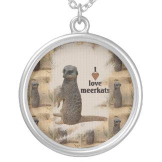 """Halskette """"Erdmännchen"""" Silver Plated Necklace"""