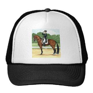 Halt, Salute at X Dressage Art Bay Horse Cap