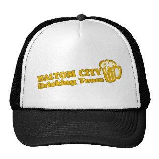 Haltom City Drinking Team tee shirts Mesh Hat