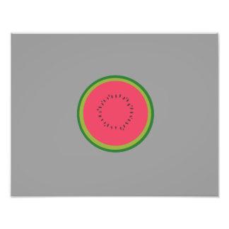 halved melon photo art