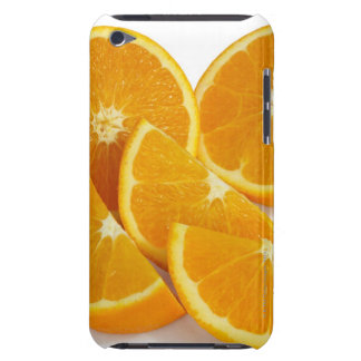 Halves and quarters of ripe, juicy, sweet iPod touch case
