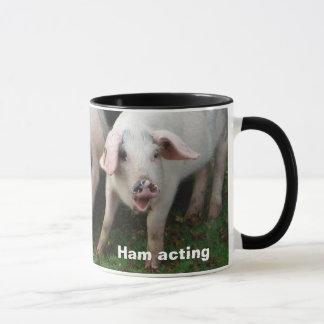 Ham acting mug
