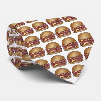 Ham and Cheese Sandwich Foodie Tie