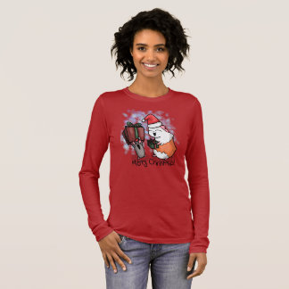 Ham and Piggy Christmas Long Sleeve T-Shirt