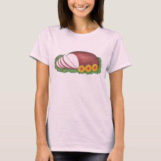 Ham and Pineapple Christmas Easter Holiday Ham Tee