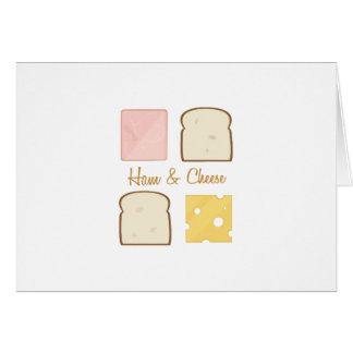 Ham & Cheese Greeting Card