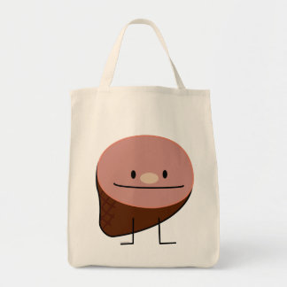 Ham holiday protein honey baked smoked pork tote bag