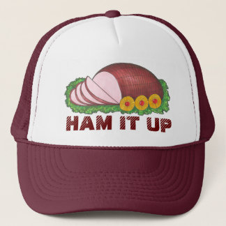HAM IT UP Holiday Ham Christmas Dinner Food Hat