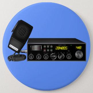 Ham Radio 6 Cm Round Badge