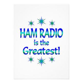 Ham Radio is the Greatest Custom Announcement