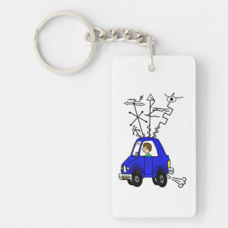 Ham Radio Mobile Rig Keychain to Customize