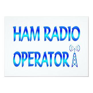 Ham Radio Operator 5x7 Paper Invitation Card