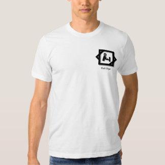 Ham Radio  Pocket 3-D Logo T-shirt  to Customize