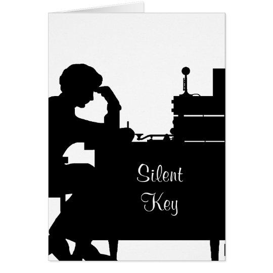 Ham Radio Silent Key Sympathy Card Customise It.
