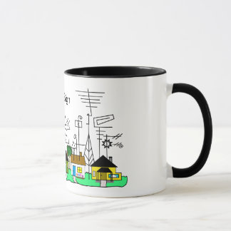 Ham Radio Street Mug   Customize It!