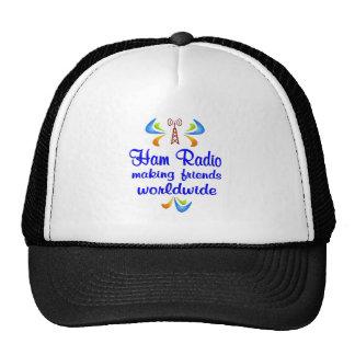 Ham Radio Worldwide Mesh Hats