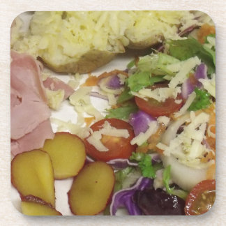 Ham Salad And Dressing Beverage Coasters