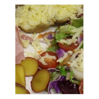 Ham Salad And Dressing Postcard