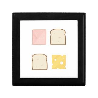 Ham Sandwich Small Square Gift Box