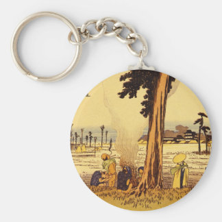 Hamamatsu', Ando Hiroshige_The Orient Basic Round Button Key Ring