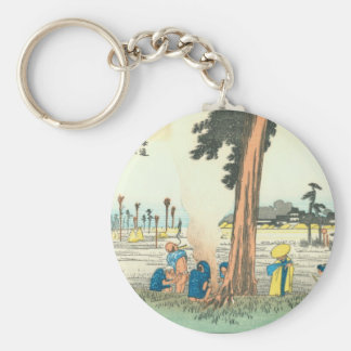 Hamamatsu Basic Round Button Key Ring