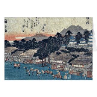 Hamamatsu by Ando, Hiroshige Ukiyoe Cards