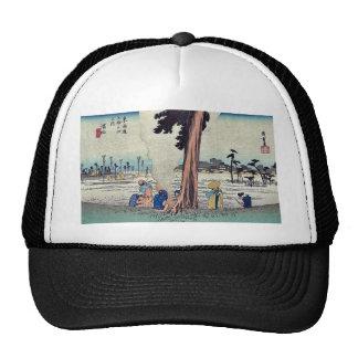 Hamamatsu by Ando, Hiroshige Ukiyoe Hats