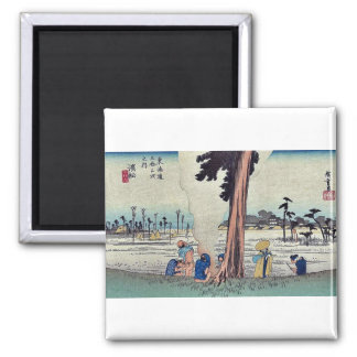 Hamamatsu by Ando, Hiroshige Ukiyoe Refrigerator Magnets