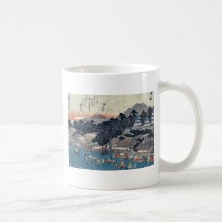 Hamamatsu by Ando, Hiroshige Ukiyoe Coffee Mug