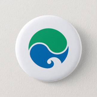 Hamamatsu city flag Shizuoka prefecture japan symb 6 Cm Round Badge