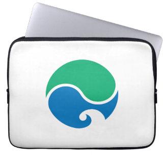 Hamamatsu city flag Shizuoka prefecture japan symb Laptop Sleeves