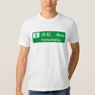 Hamamatsu, Japan Road Sign Shirts