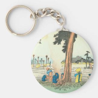 Hamamatsu Basic Round Button Key Ring