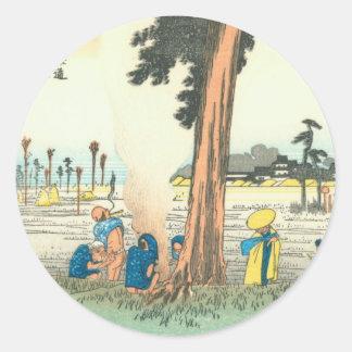 Hamamatsu Round Sticker