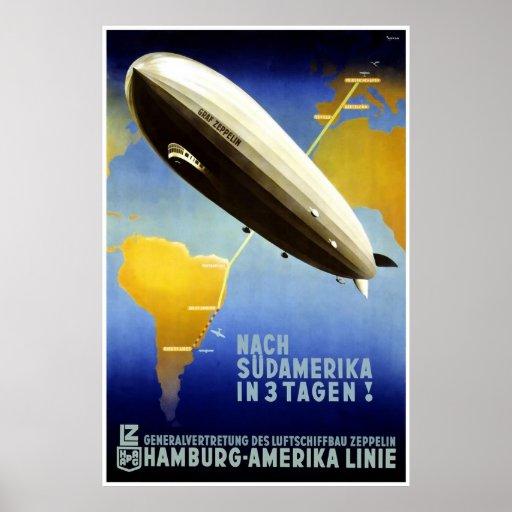 Hamburg Amerika Linie Hamburg America Line HAPAG Print