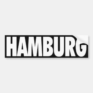Hamburg Bumper Sticker