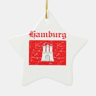 Hamburg City designs Christmas Ornament