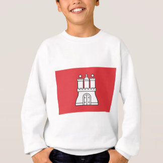 Hamburg Flag Sweatshirt