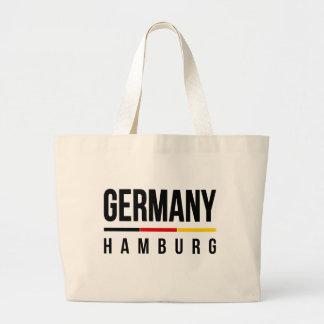 Hamburg Germany Large Tote Bag